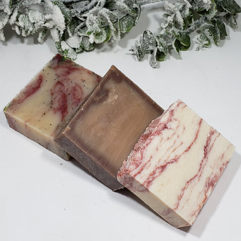 Winter Collection - All Natural Handmade Soaps