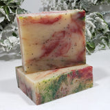 Christmastide All Natural Handmade Soap 5 oz - Organik Beauty