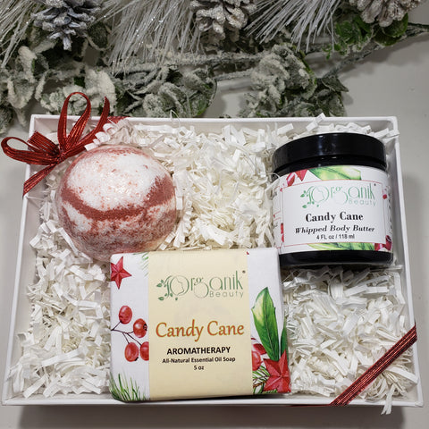 Candy Cane Gift Set - Organik Beauty