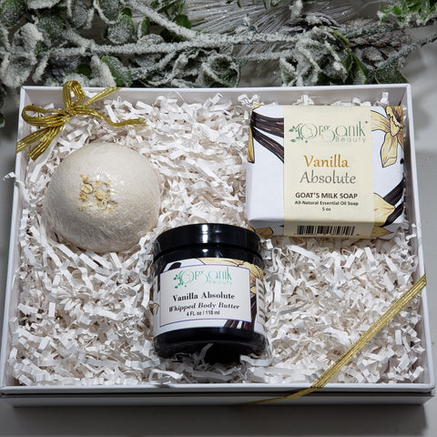 Vanilla Absolute Gift Set - Organik Beauty