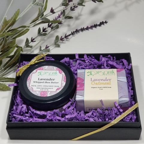 Lavender Body Essentials Gift Set Small - Organik Beauty