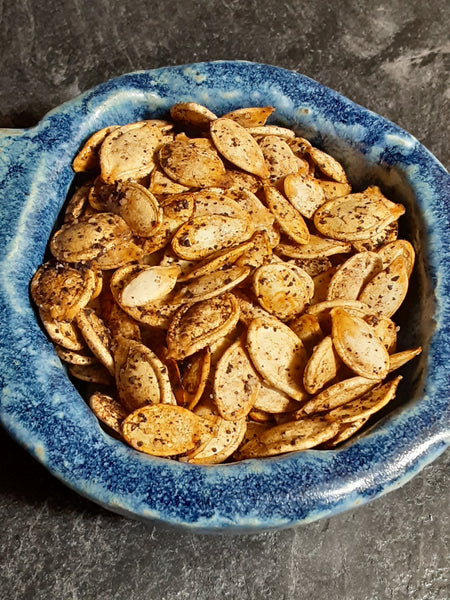 Coffee Roasted Pumpkin Seeds