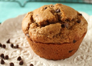 Coffee Chocolate Chip Muffins