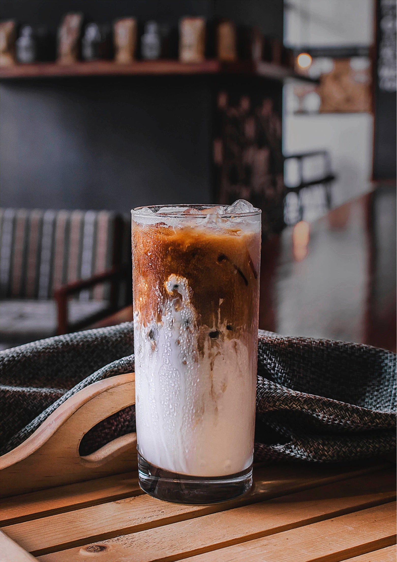 Toasted Coconut Iced Coffee