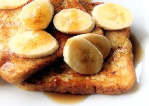 Cappuccino French Toast With Banana