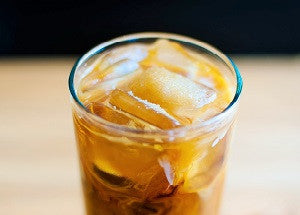 Creamy Sea Salt Caramel Iced Coffee
