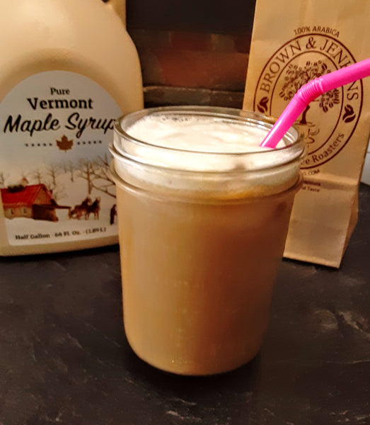 Iced Maple Latte