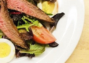 Steak House Salad with Steak & Venison Buzz Rubs