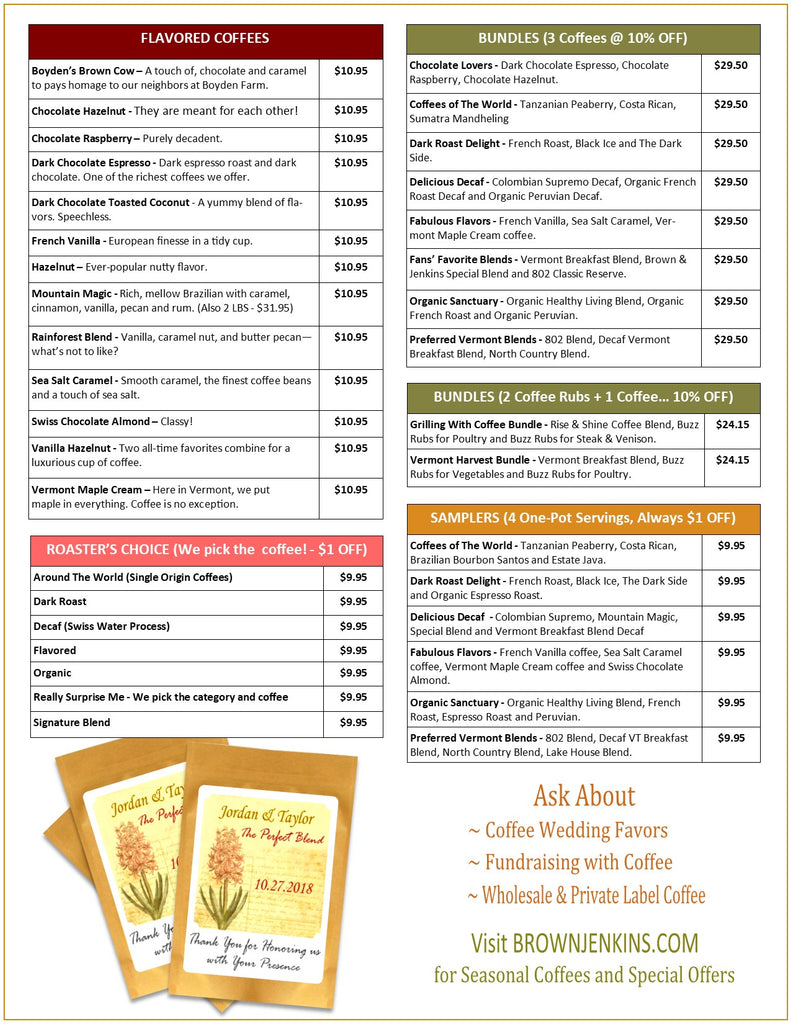 Coffee Price List 2019 - Page 2