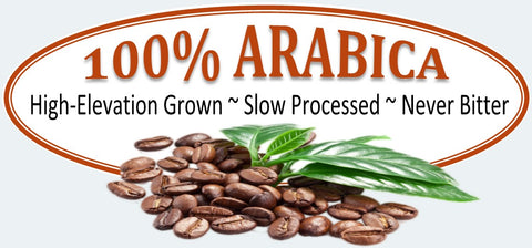 Only 100% Arabica Coffee Beans at Brown & Jenkins Coffee Roasters of Vermont