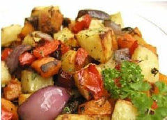 Roasted Vegetables with Buzz Rubs for Vegetables