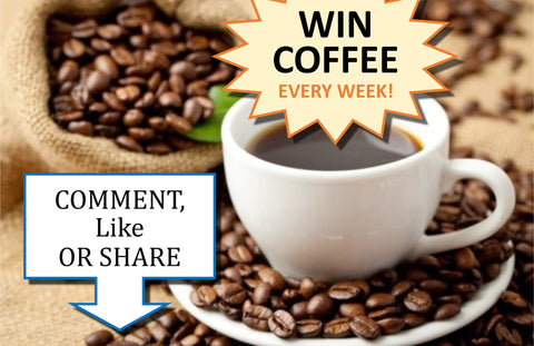 Win Coffee every week at Brown & Jenkins