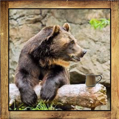 Camp Coffee - Big Bear Blend Coffee - 10 oz - Coffee Blend - Brown & Jenkins - The Vermont Coffee Roasters