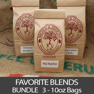 Favorite Blends Coffee Bundle - 3x10 oz