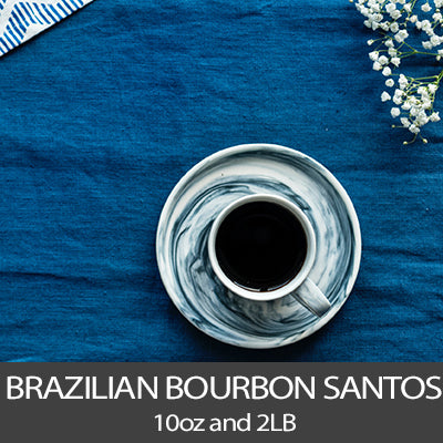 Brazilian Bourbon Santos Coffee