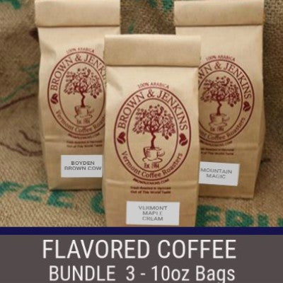 Flavored Coffee Bundle - 3x10 oz
