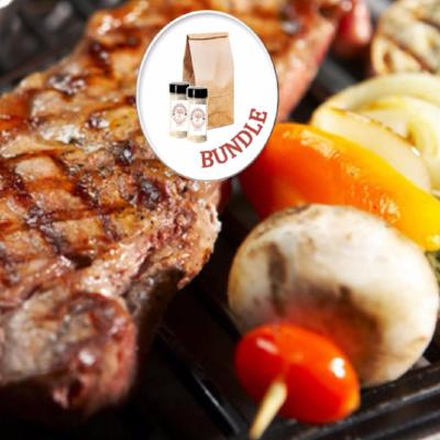 Grilling With Coffee Bundle - 2 Rubs - 1 Coffee - Coffee Bundles - Brown & Jenkins - The Vermont Coffee Roasters