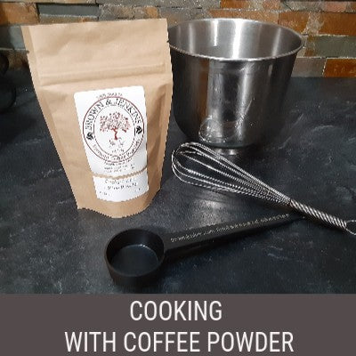 Cooking With Coffee Powder - 2 oz