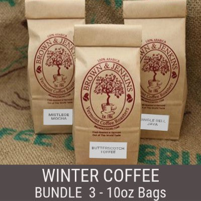 Winter Coffee Bundle - 3x10 oz
