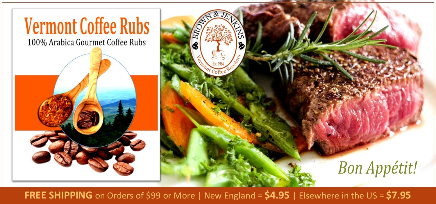 Think Spring and Save with Coffee Rubs for Steak & Venison