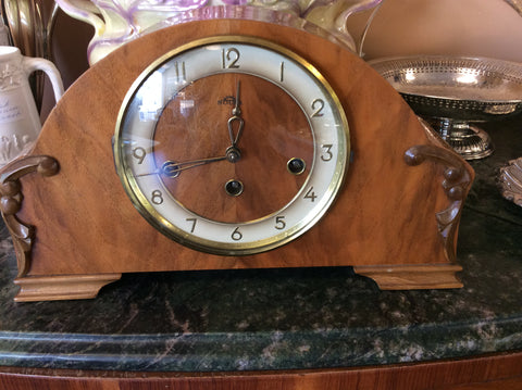 German chime 1950 mantle clock