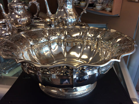 Sterling silver circa 1910 filigree bowl