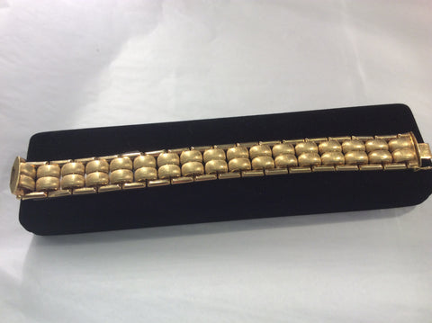 Ladies 18 Kt yellow gold  bracelet