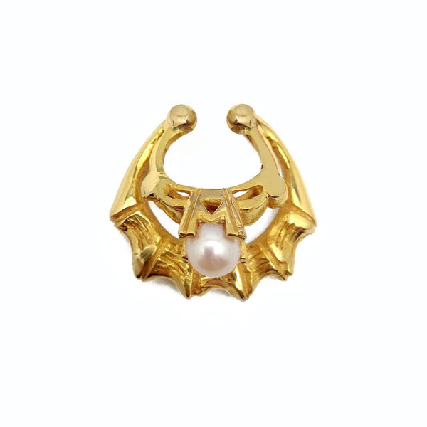 Pearl Girl Double Level Septum Cuff