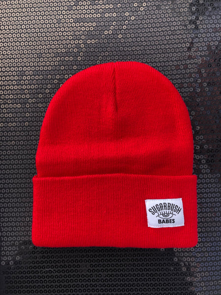 NEW!! Sugarbush Logo Beanie, Red