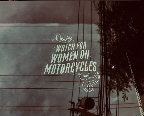 WOM Car Decal