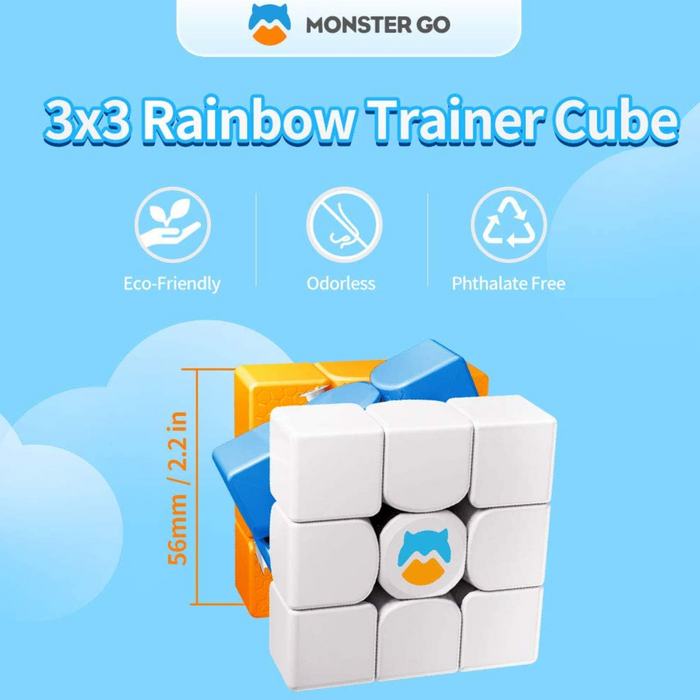 Monster Go 3x3 (Rainbow) training cube