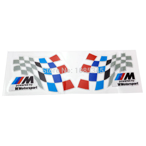 1set Car Styling Stickers M Motorsport - MLifeM6