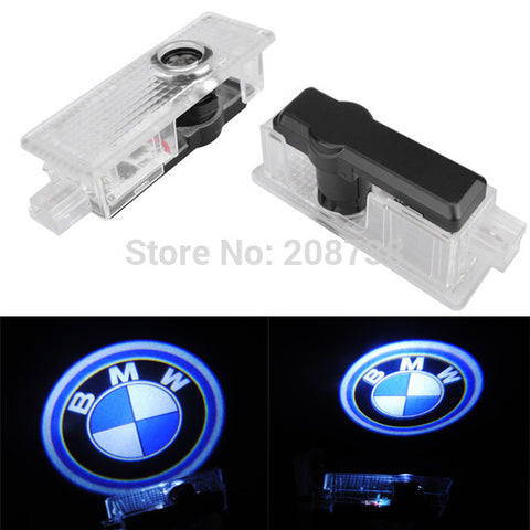 2PCS Cree 5W LED Door Welcome Emblems Light With Car Logo for BMW Special - MLifeM6