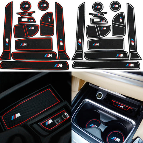///MLifeM6 11 pcs/set Car Styling Interior Non-slip Cup - MLifeM6 - 1