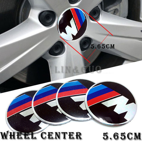 Wheel Center Cap FOR BMW E46 E39 E36 E60 E30 E90 X5 Emblems Stickers Car Styling Accessories - MLifeM6