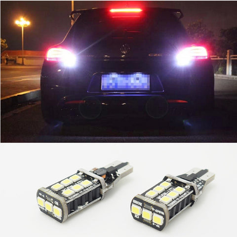 2x T15 W16W LED CANBUS Samsung 3535 Chip High Power Backup Reverse Light for Audi BMW Camry - MLifeM6