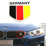Germany Black Red Yellow Badge For European Cars - MLifeM6 - 1