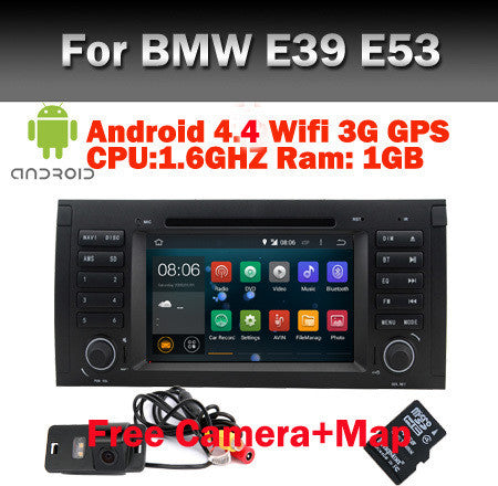 Android 4.4 Car DVD GPS for BMW E53 android E39 X5 - MLifeM6