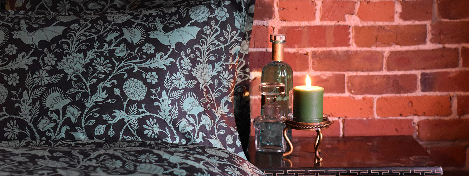 Weave the spirit of Absinthe into your home.