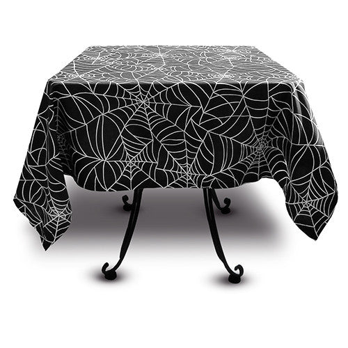 Kitchen and Table Linens - Spider Web Design - Sin in Linen