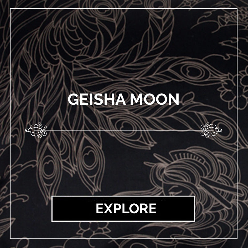 Geisha Moon Tattoo Collection