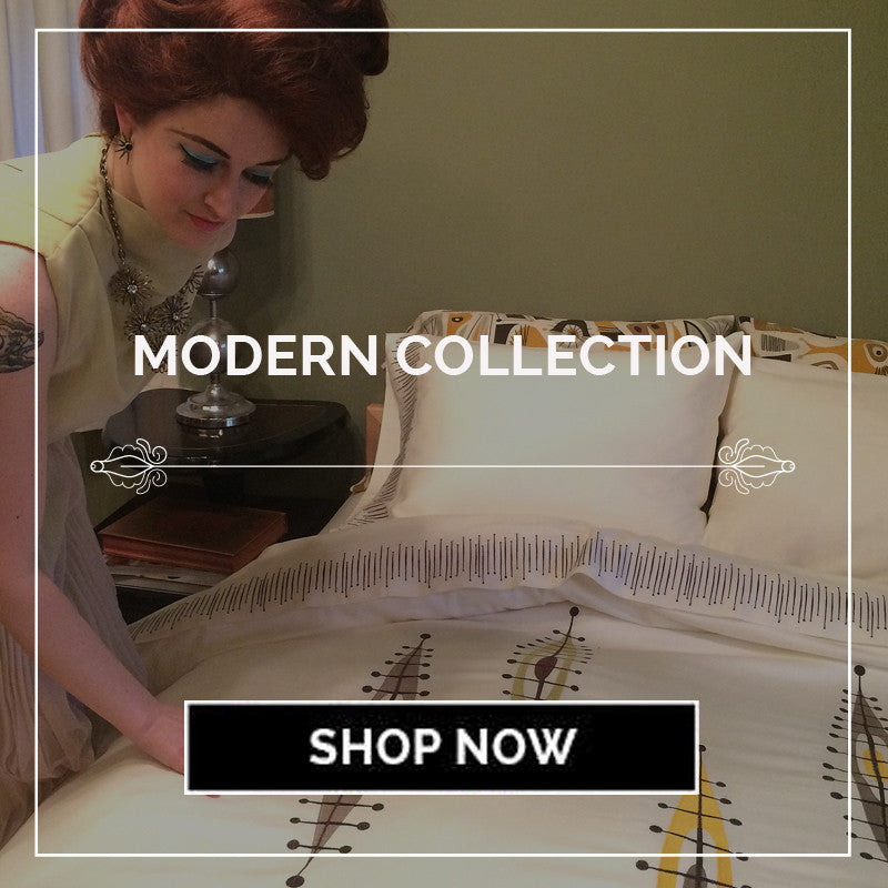 MidCentury Modern Bedding Collection