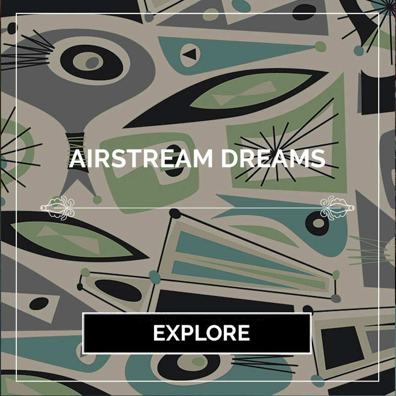 Airstream Dreams Modern Bedding - Sin in Linen - Ragnarama