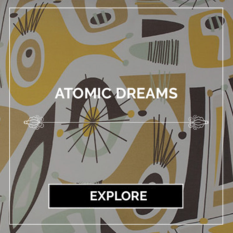 Atomic Dreams Modern Bedding - Sin in Linen - Ragnarama