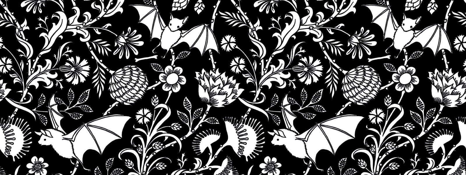 Elysian Fields Bat Print - Sin in Linen