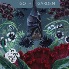 Gothic Gardening Seeds - Hudson Valley Seed Co