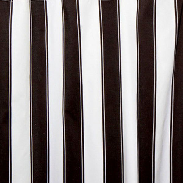 Black and White Striped Pillow Cases and Shams