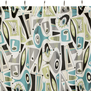 Airstream Dreams Shower Curtain - by Sin in Linen