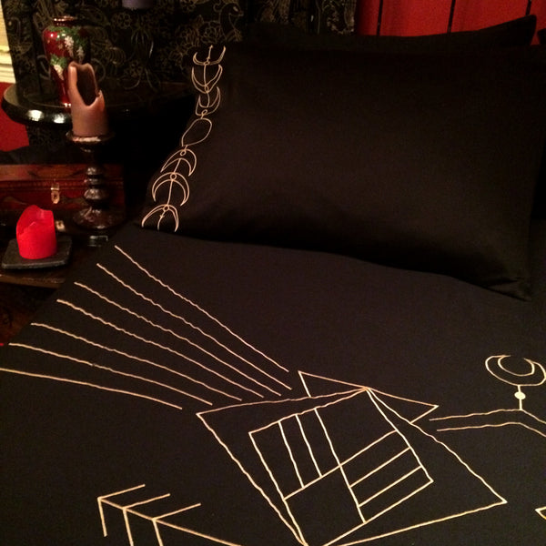Moon Phase Pillow Cases and Shams