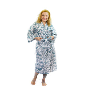 Blue Elysian Fields Robe